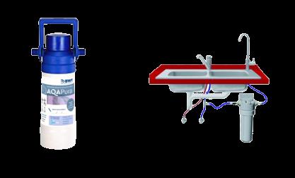 filtre sous évier enlever goût eau robinet