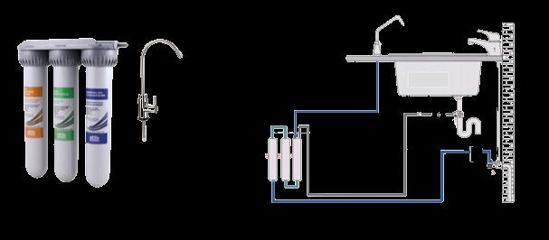 ultrafiltration enlever mauvais goût eau de robinet