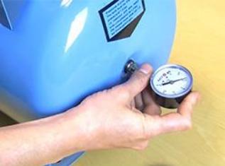 vérifier pression air